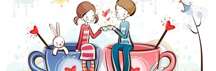 Картинка с днем знакомства с любимым человеком