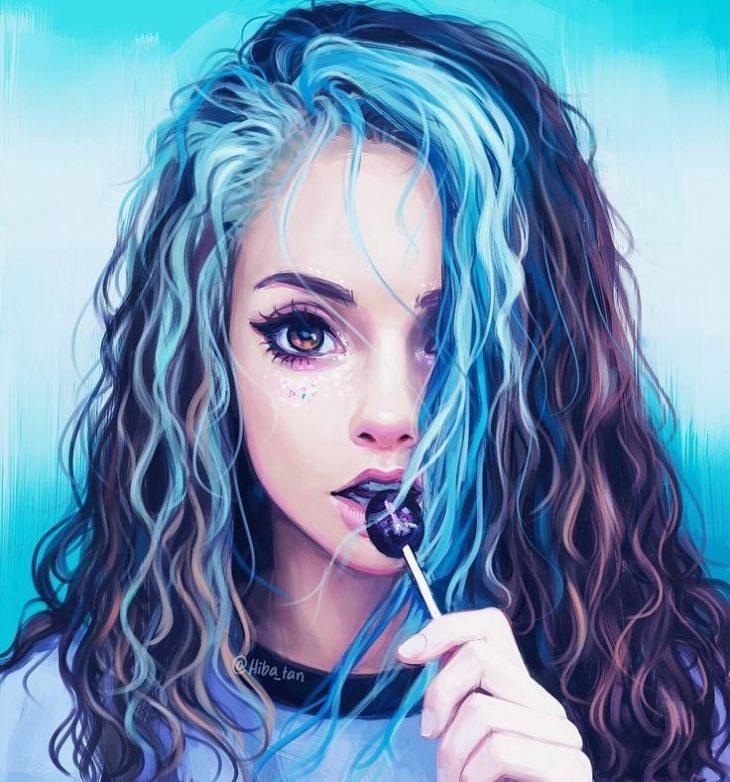 Картинка для девочек девушки
