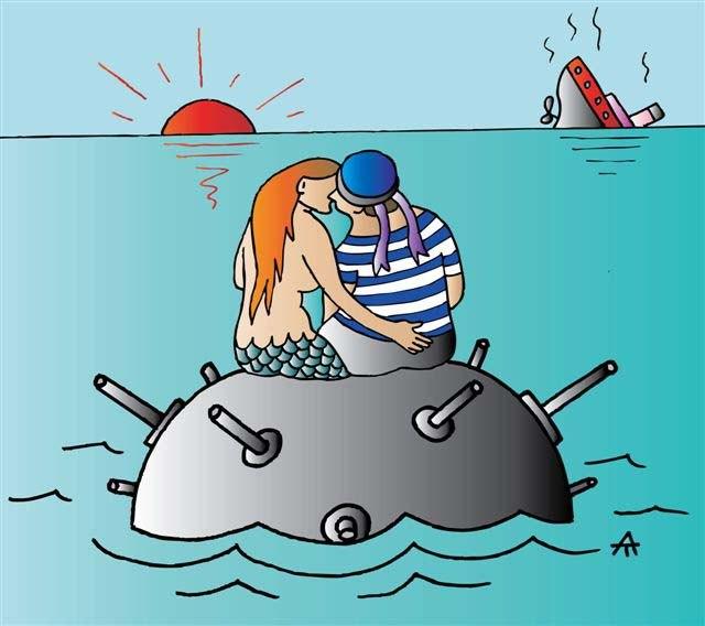 Смешные картинки про моряков и женщин