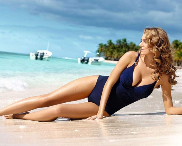 Картинки моделей на пляже