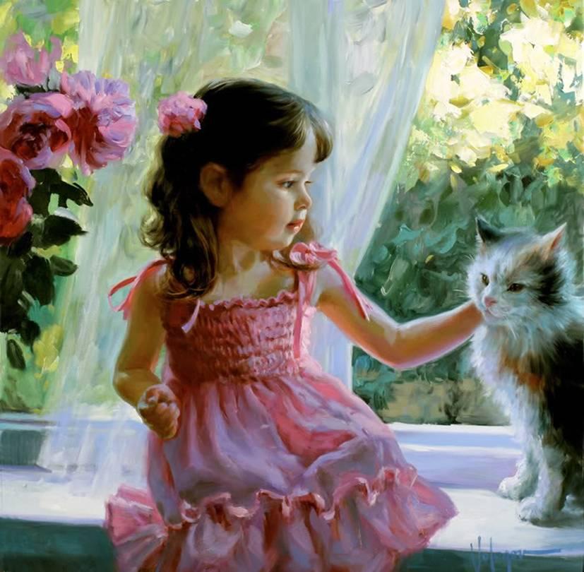 Картинки с кошечками для девочек