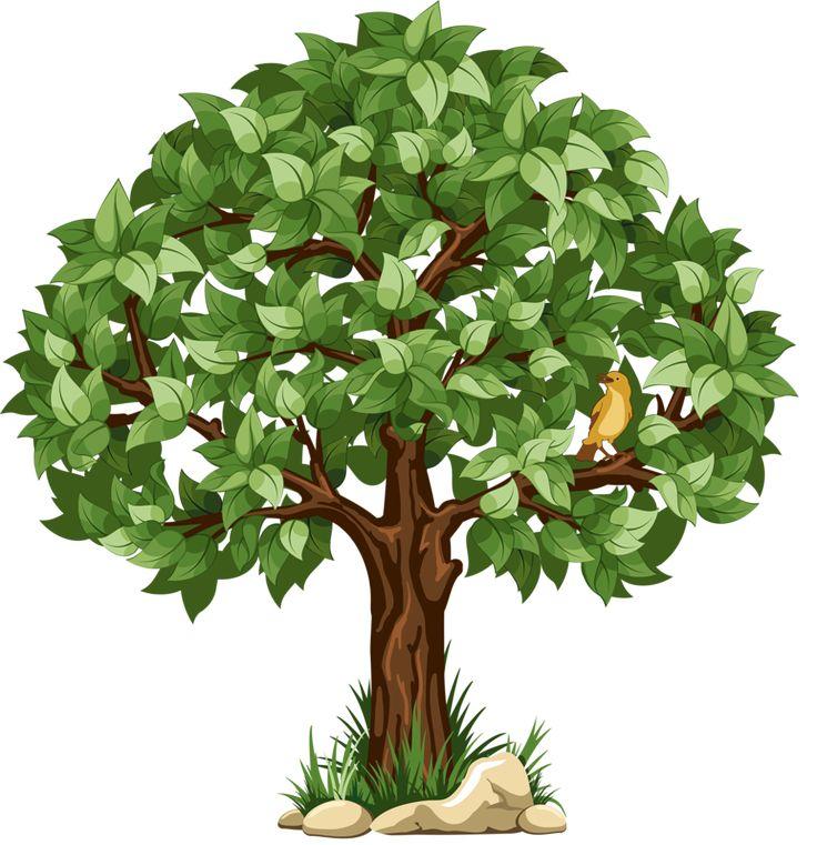 Картинки деревья рисунки для детей