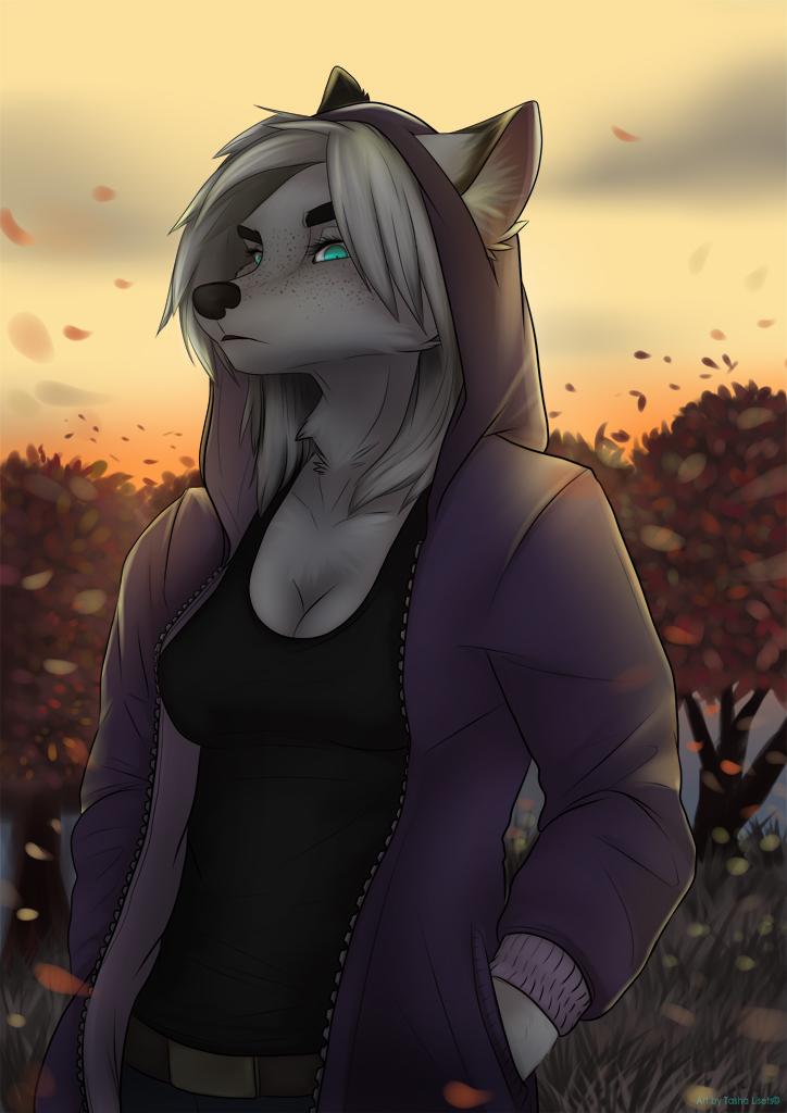 Картинки волчицы фурри