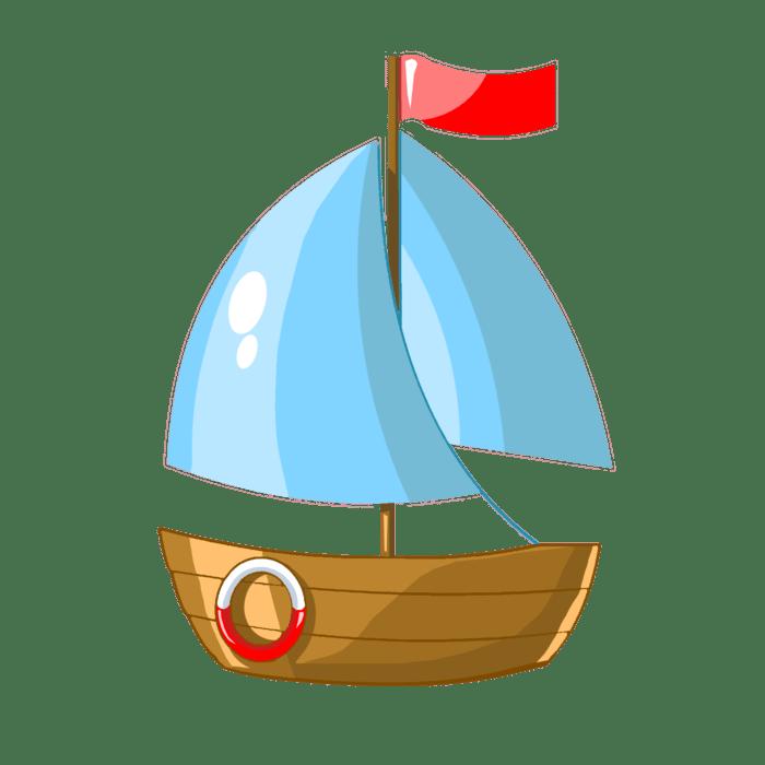 Картинки для детей кораблик на прозрачном фоне