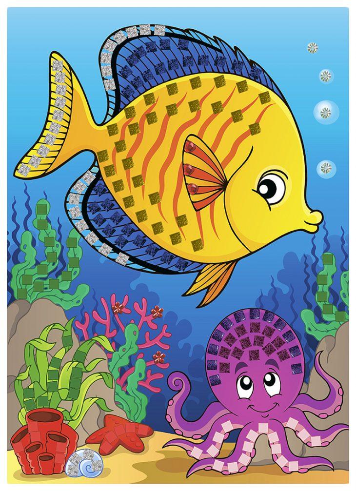 Цветные картинки рыбок