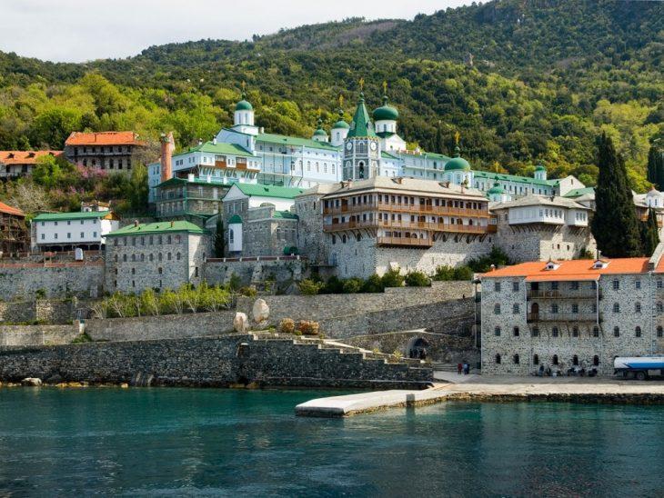 возможно гора афон в греции монастырь фото ватсапу соцсетям гуляют