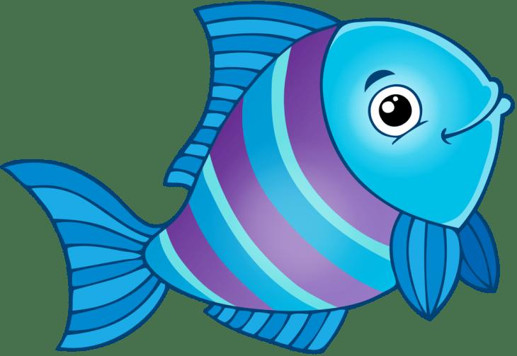 Картинки разноцветные рыбки для детей
