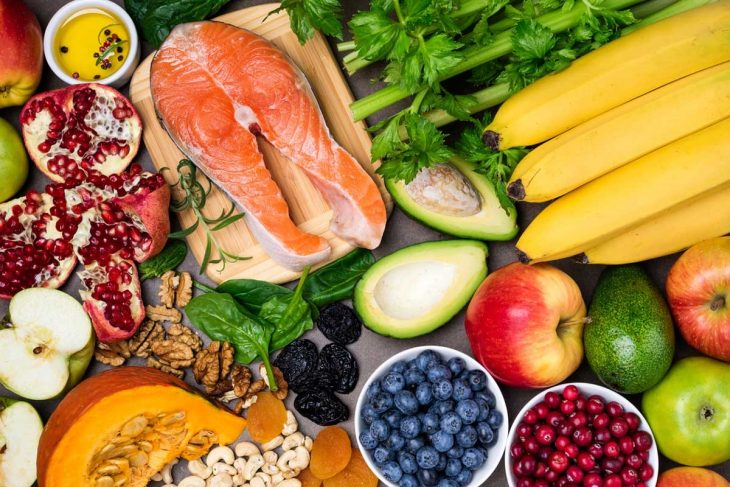 Вкусная и полезная еда картинка