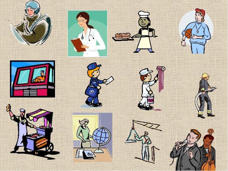 Картинки разных профессий для презентации