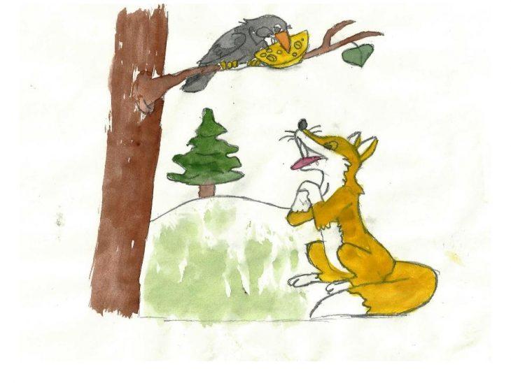 Иллюстрации и картинки к басням крылова