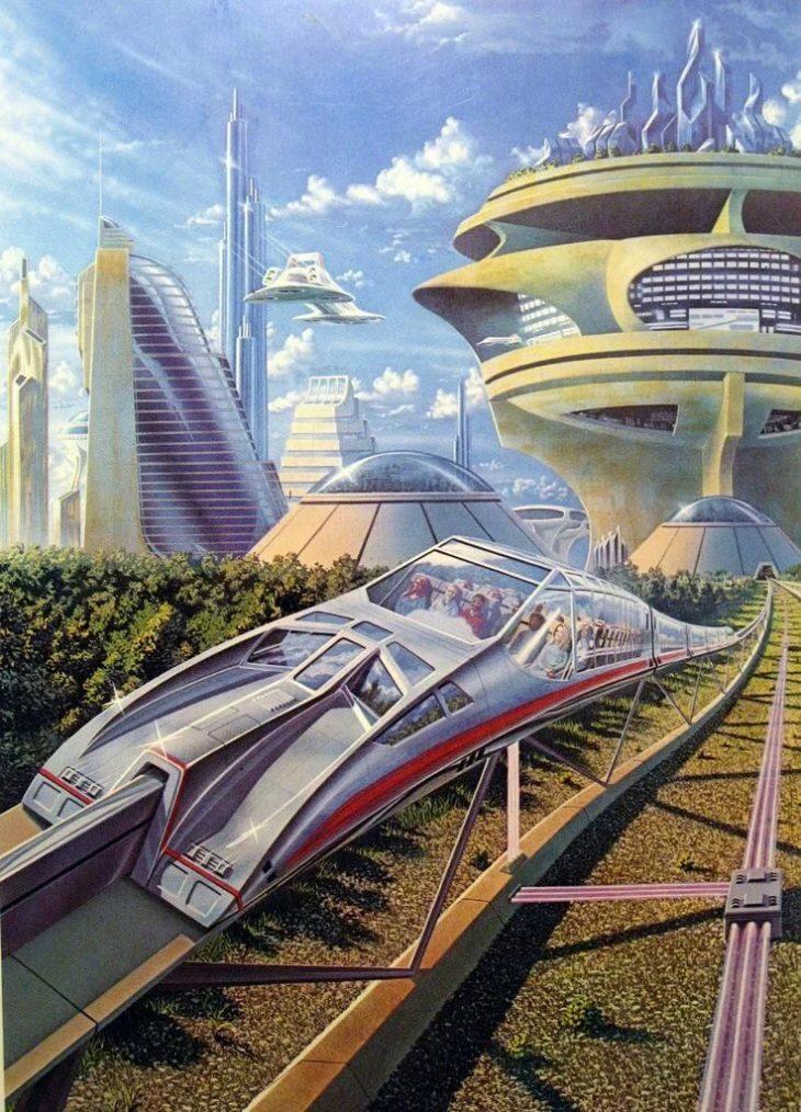 Футуристические постеры будущего