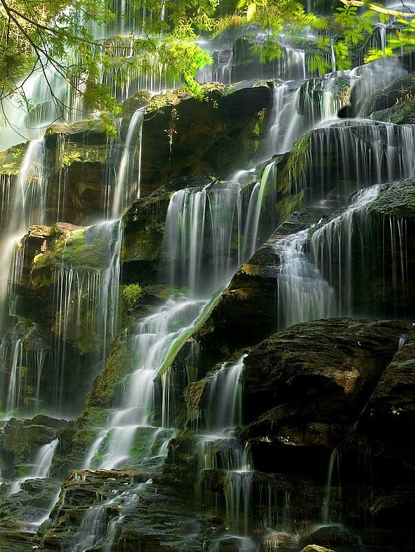 Водопады гиф картинки чем отличаются