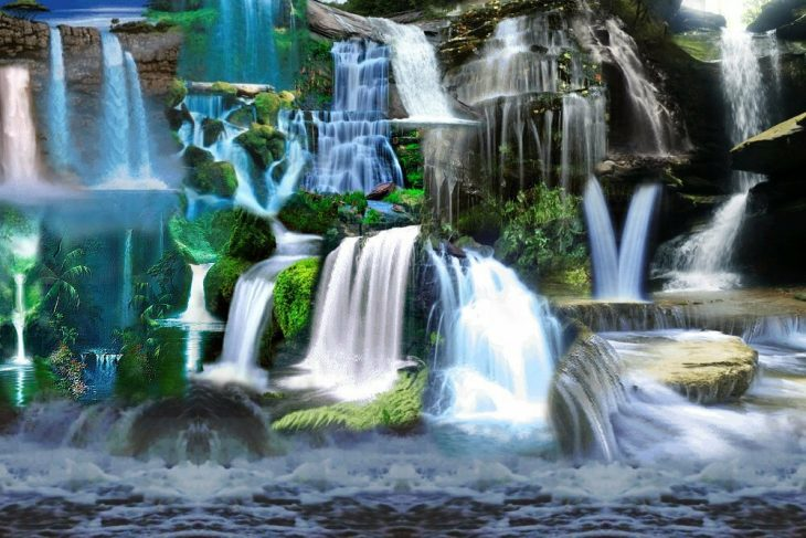 гифы водопад все дети