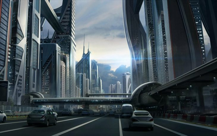 так как картинки на телефон город будущего найти обратное