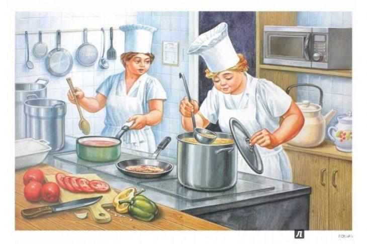 картинки профессии повара так случилось, чем