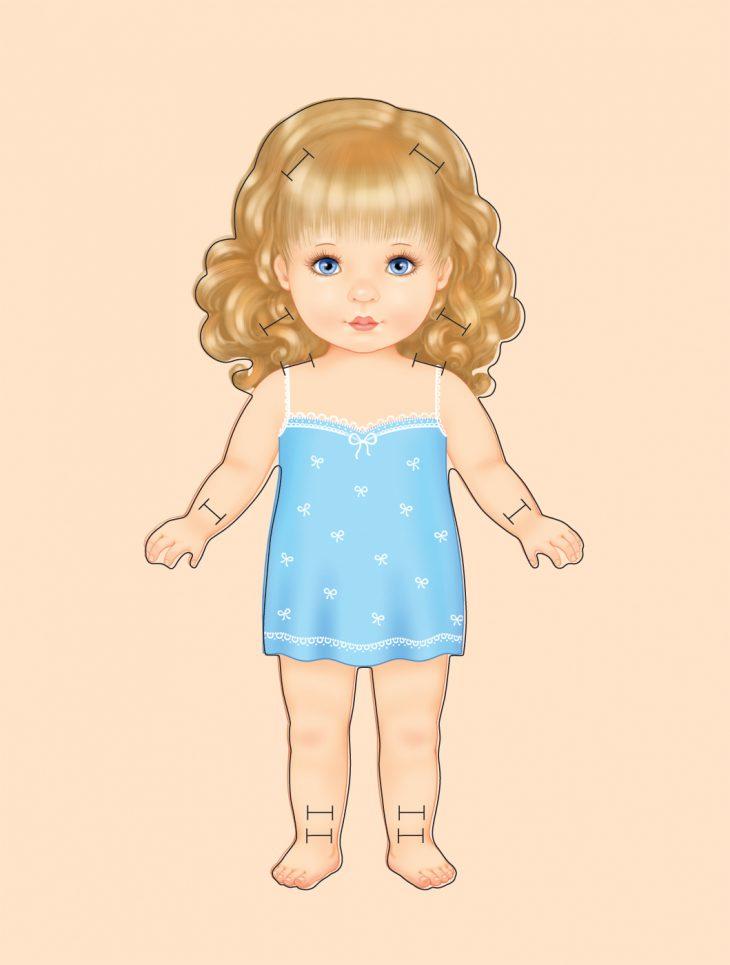 Картинка для детей девочка нарисованная