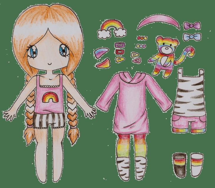 Картинки для лд кукла