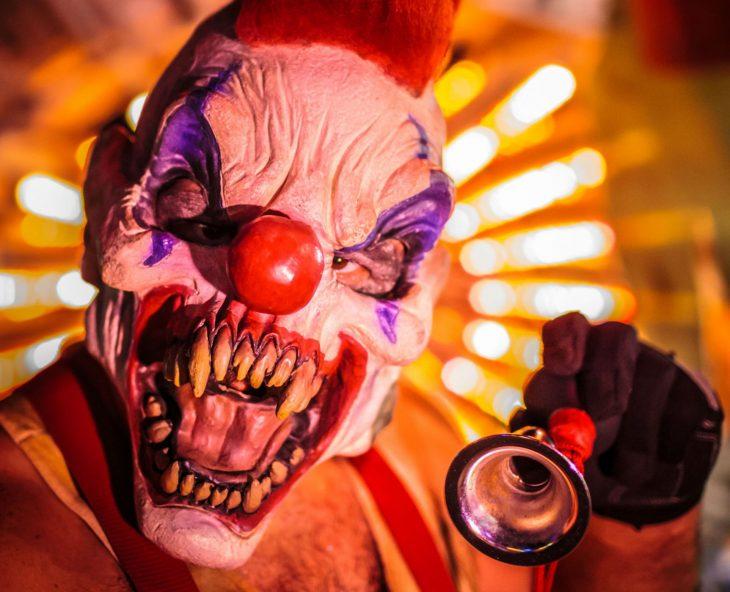 Красивые картинки злых клоунов