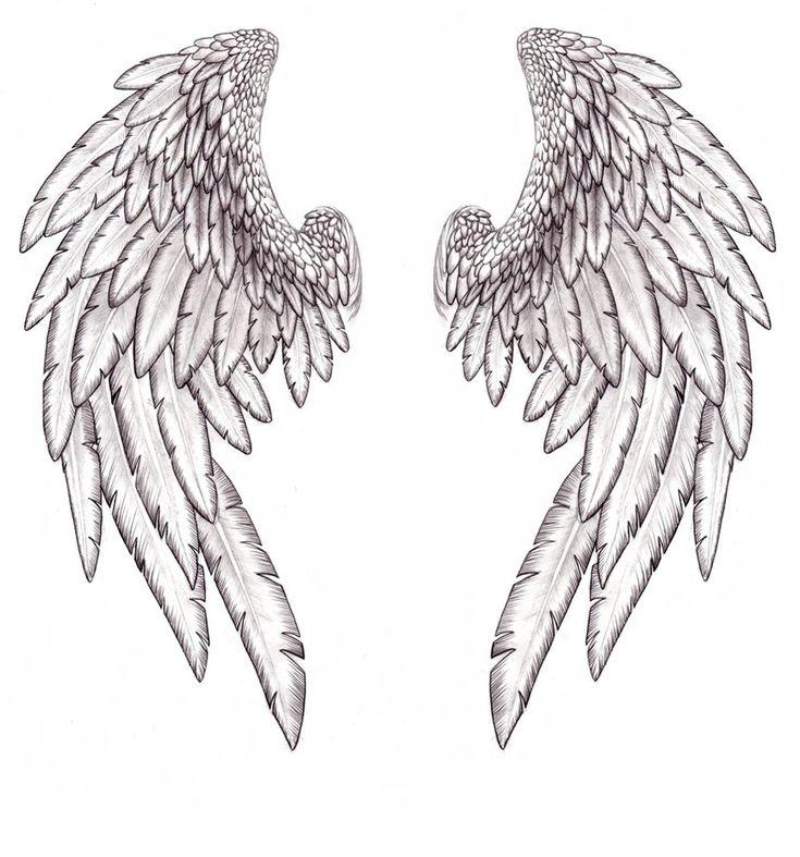 всегда эскиз крылья ангела картинки шикарной кухней изысканным