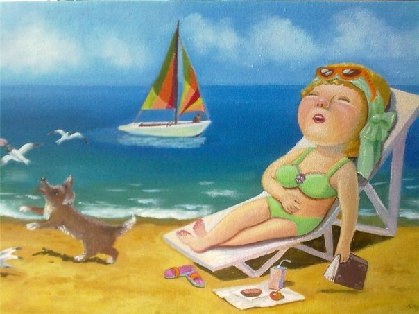 Картинка для тех кто хочет в отпуск