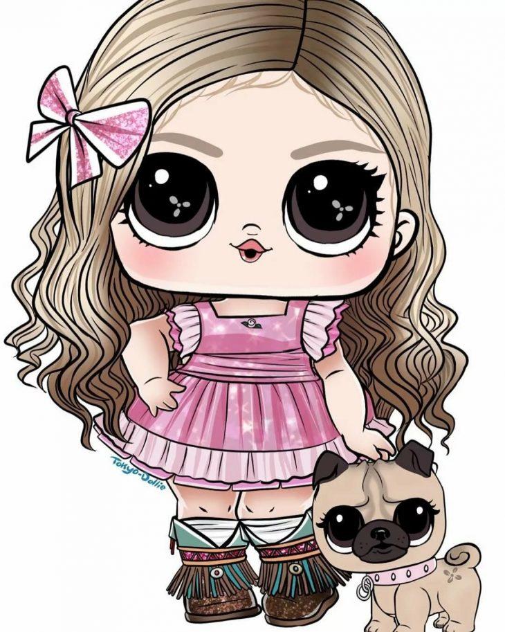 картинки для кукол нарисовать