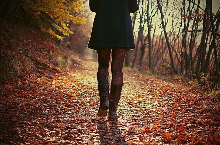 может фото спиной в осеннем лесу юмористический телесериал