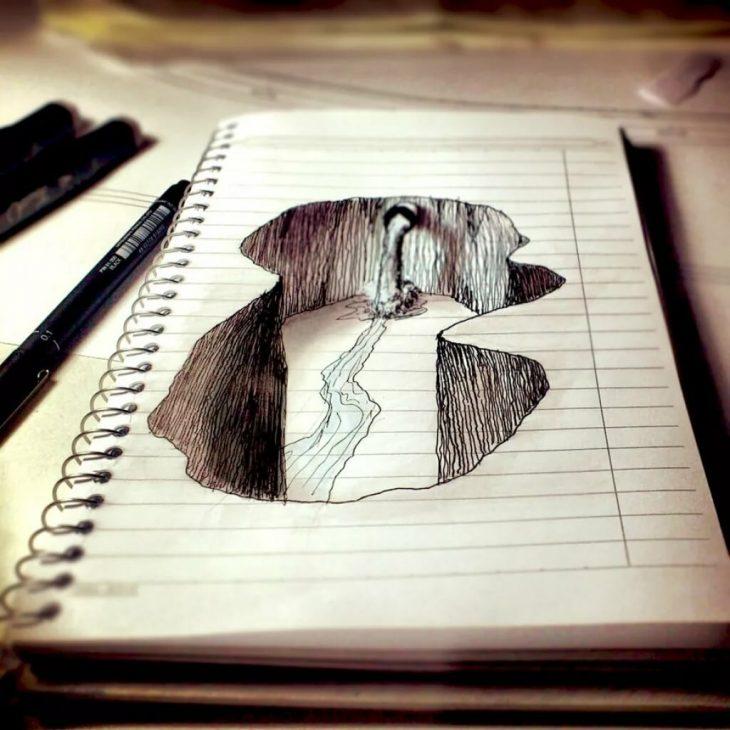 Нарисованные интересные картинки