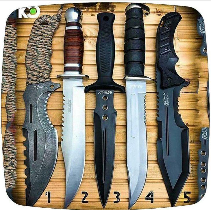 фото ножей всех видов мира нас снять